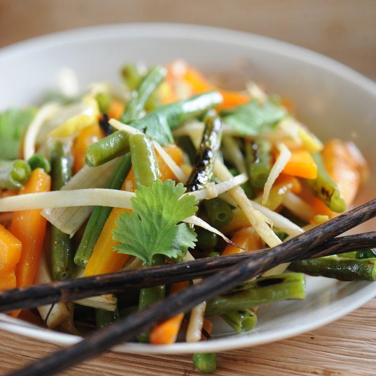 Wok de légumes croquants au citron Cliquez sur la photo pour lire la recette