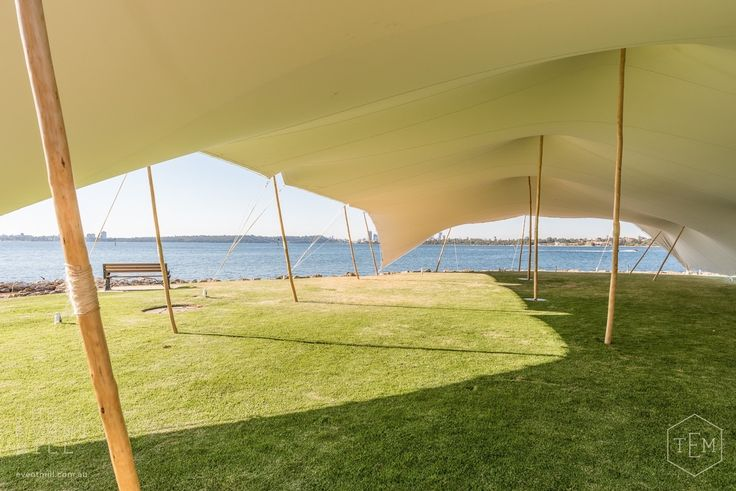 20m x 15m White Bedouin Stretch Tent #bedouin #stretch #tent #marquee #shelter #shade #wedding #engagement #party #festival #event #hire #perth