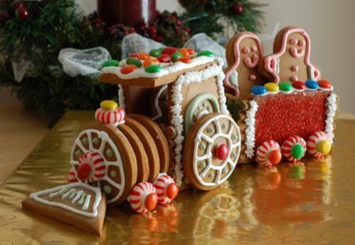 Gingerbread Train