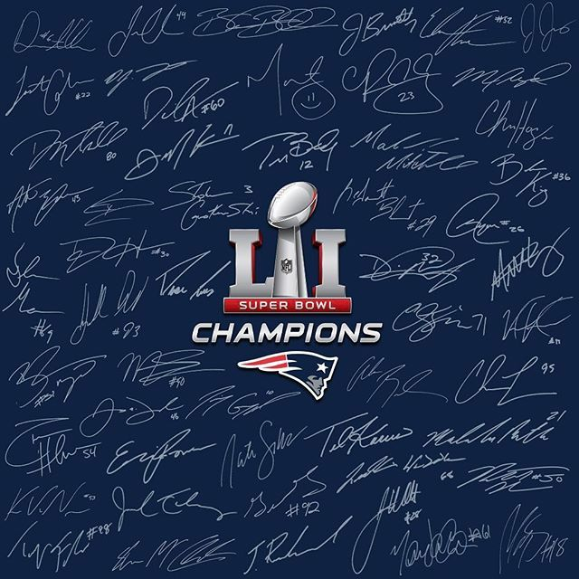 SUPER BOWL LI CHAMPIONS!!! I STILL CAN'T BELIEVE IT!!