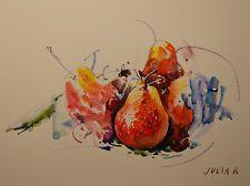 Contemporary Art / eredeti festmény amerikai művész Julia Romano / Csendélet