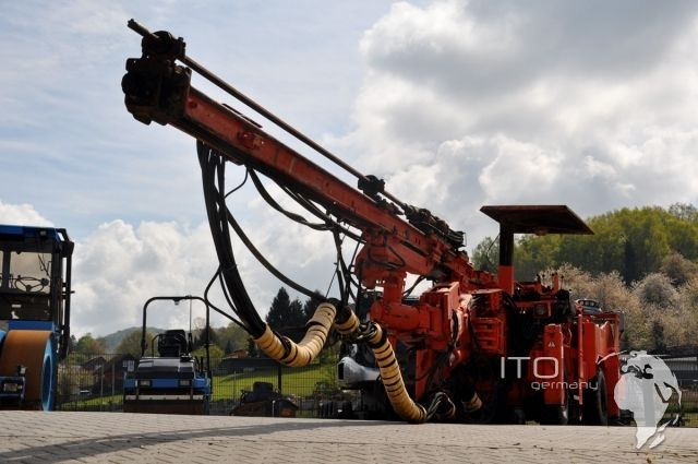 Used #Tamrocj Mining Equipment for sale #drillrig http://www.ito-germany.de/kaufen/used-tamrock #sandvik #jumbo #boomer