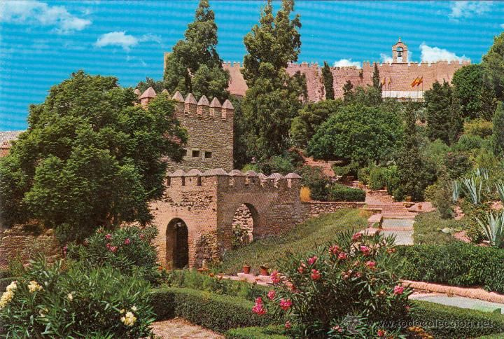 Almeria - jardines de la alcazaba - ed. jose salas ibañez - nº109 ...