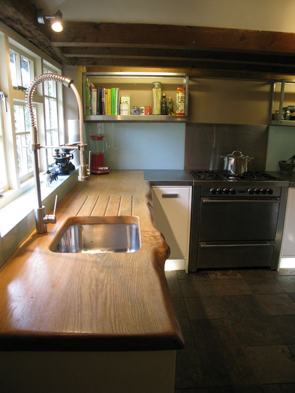 Wooden work top Kitchen