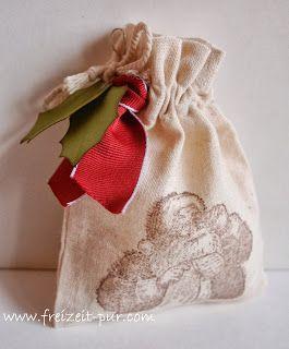 Stampin'Up! Verpackung, Mini-Musselinbeutel Wunschzettel, Weihnachten
