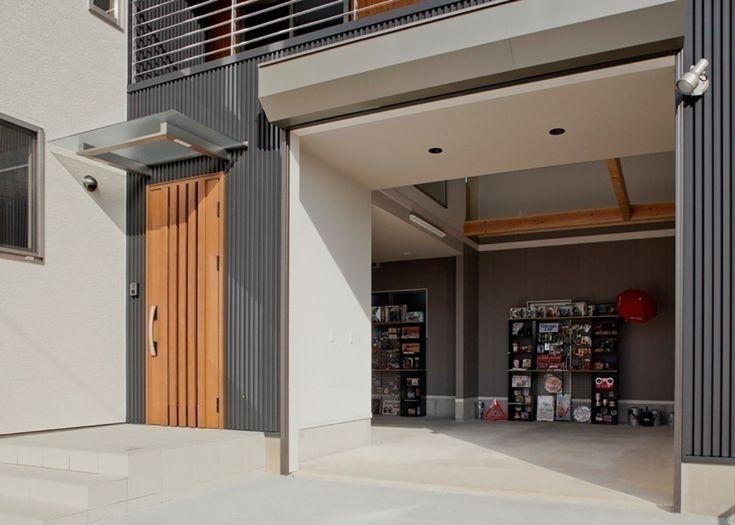 車3台分の広いガレージハウス | U-TASTE 梅村工務店