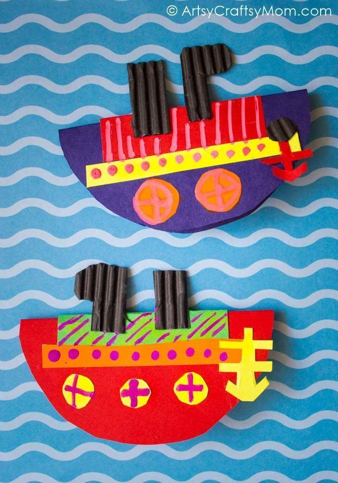 580 best under the sea beach themed ideas images on for Crafts for little kids