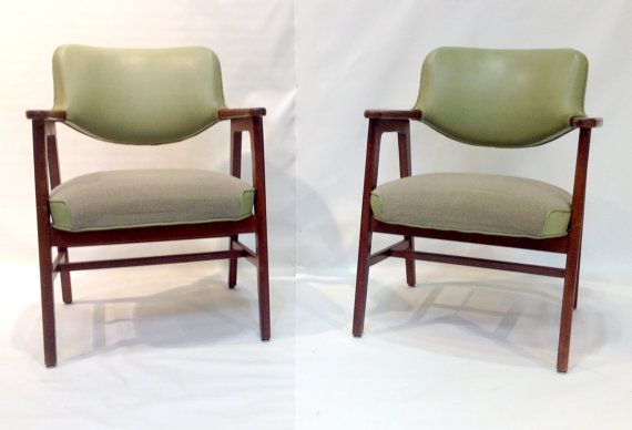 Pair of Mid-Century Modern Armchairs by DallasMod on Etsy