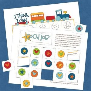 Free Printable Train Reward Chart