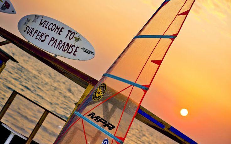 Surfernes paradis ligger på Rhodos. Se mere på www.apollorejser.dk/rejser/europa/graekenland/rhodos