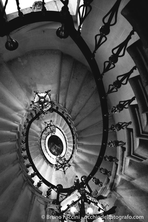The hidden stair by Bruno Faccini, via 500px
