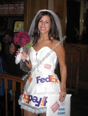 coolest homemade mail order bride costume idea - Creative Halloween Costume Idea
