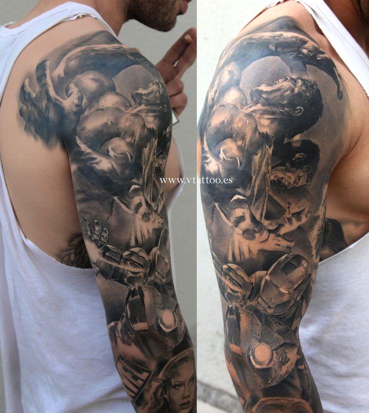 marvel tattoo 2 copia 3