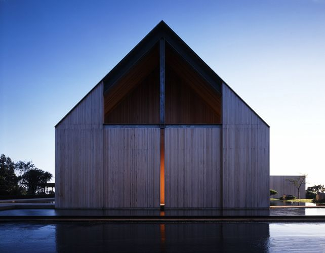 the Church of WATER LIGHT by ITAMI JUN in Jeju Island
