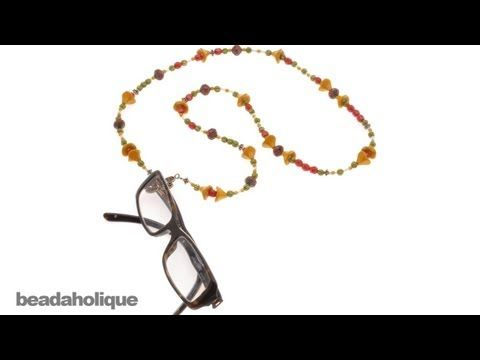 how to make eyeglass chains