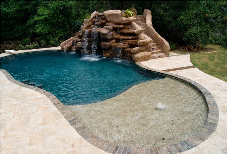 swimming pool decorations pool waterfall pool builders backyard pools backyard ideas landscaping ideas outdoor ideas garden ideas swimming pools. beautiful ideas. Home Design Ideas