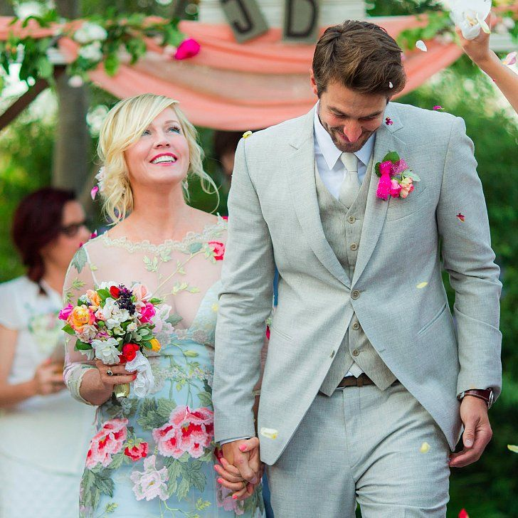 Even More Stunning Pictures From Jennie Garth's Gorgeous Wedding!: Jennie Garth married Dave Abrams in a gorgeous outdoor event in Los Olivos, CA, on July 11, and now the couple is sharing stunning pictures from their big day!