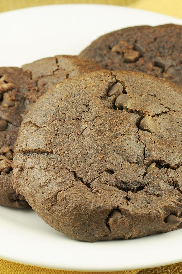 Fat-free Chewy Chocolate Cookies