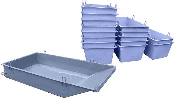 Желаете заказать ящики для раствора и бетона по лучшей цене? У нас есть любые — выбирайте! Мы всегда готовы изготовить и разработать под Ваши пожелания стальные ящики следующих видов: - ящик «совок» - изготавливается в форме параллелепипеда, с одной скошенной стороной, и оснащается шестью петлями с объемом от 0,5 до 3 м3; - ящик «лодочка» - это стальной контейнер, формы трапеции, с объемом от 0,25 до 0,5 м3; - ящик «корыто» - это емкость с полукруглым днищем, объем которой свыше 0,25 м3…