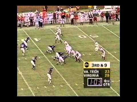 Great Ending to the 1995 Virginia Tech-UVA Game