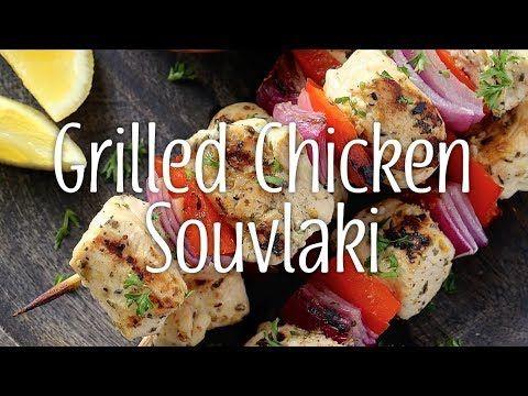 Yum & Yummer | Grilled Chicken Souvlaki