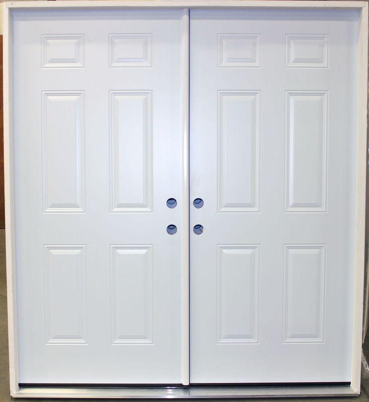 prehung double exterior steel doors