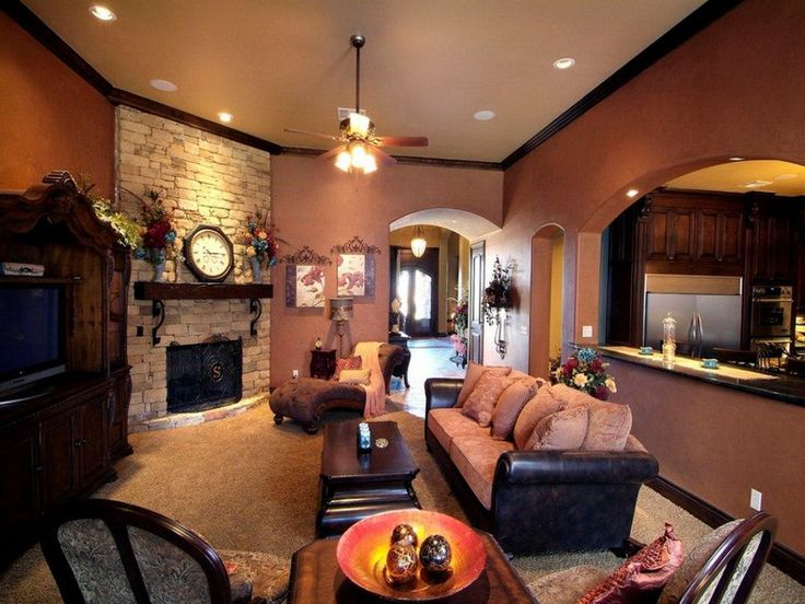 25 best ideas about Brown living room paint on Pinterest