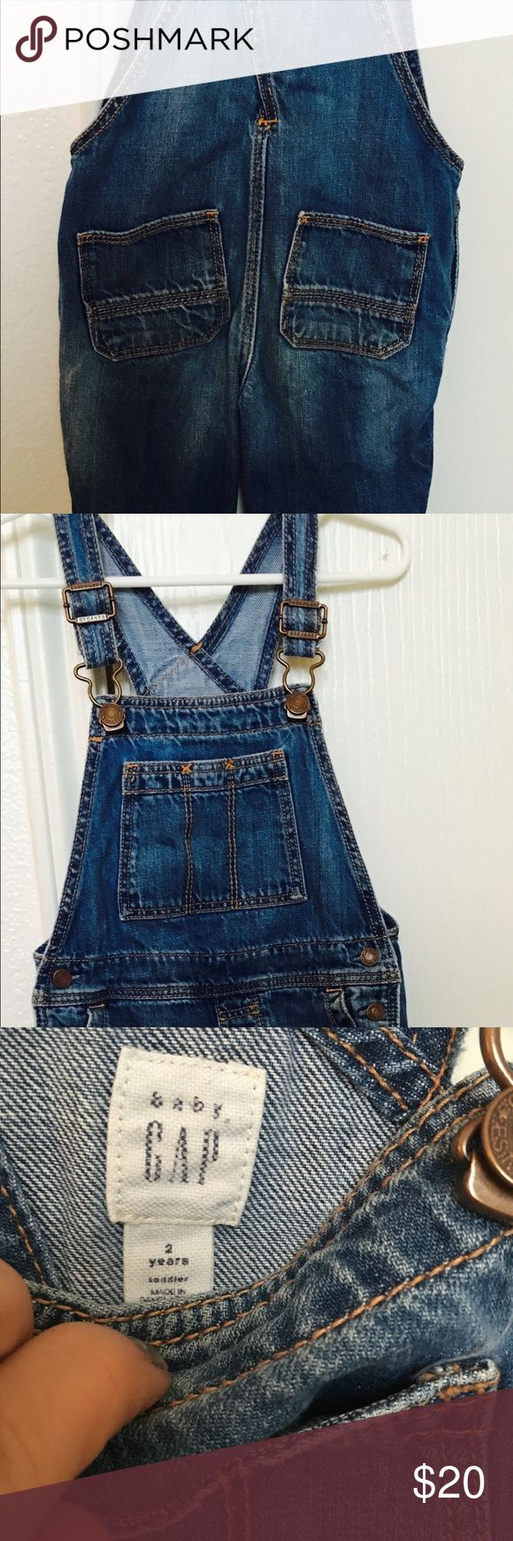 2T overall for girls Used but in excellent condition GAP Bottoms Overalls