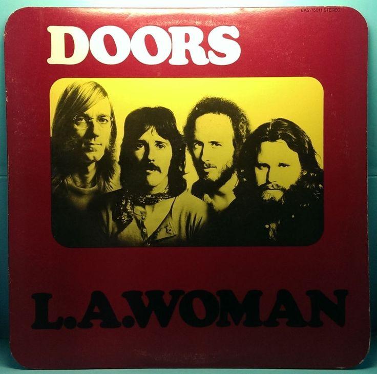 The Doors L.A. Woman EKS-75011 LP Elektra 1971 VG+/VG+ Crucifix Inner Sleeve #BluesRock http://stores.ebay.com/cjvintagevinyl