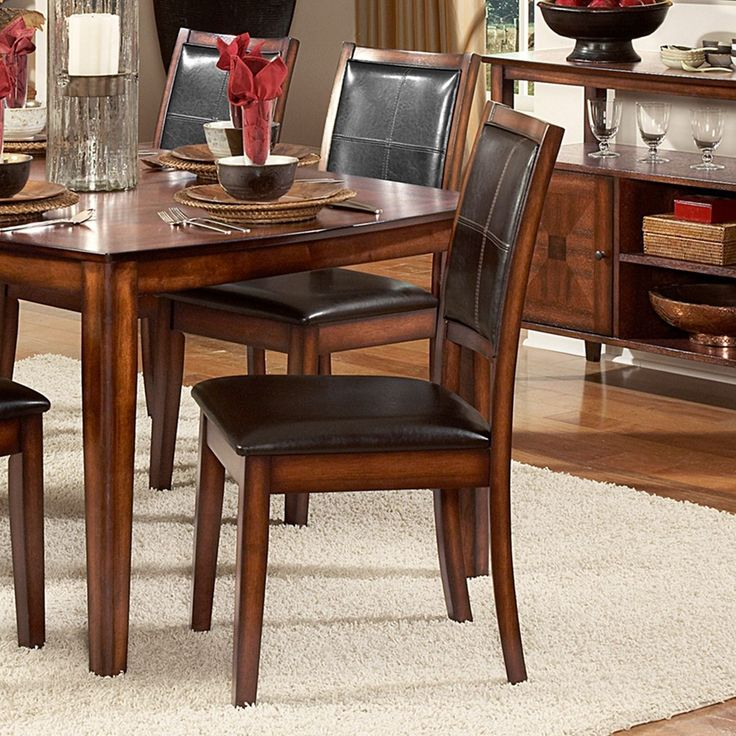Frisco Bay Burnished Oak Dining Chair (Set Of 2) By INSPIRE Q Classic,