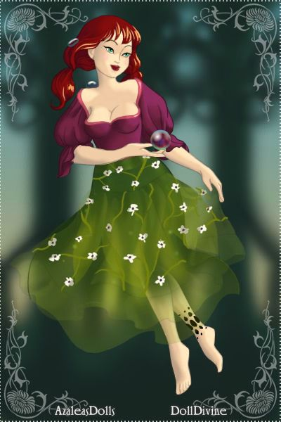 Teenage Ariel ~ by MegaSweetLolita ~ created using the Four Elements doll maker | DollDivine.com