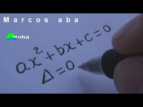 Equação do segundo grau - matemática - YouTube