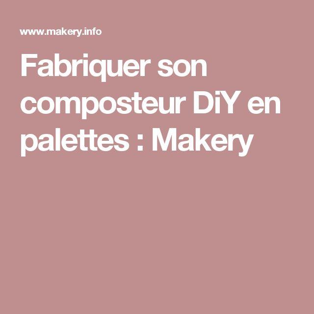25 best ideas about fabriquer un composteur on pinterest. Black Bedroom Furniture Sets. Home Design Ideas
