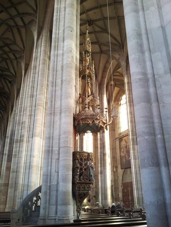 Another view of Our Lady's Münster in Dinkelsbühl