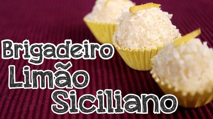 Brigadeiro Limão Siciliano
