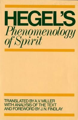Phenomenology of Spirit - Georg Wilhelm Friedrich Hegel [Fenomenologjia e shpirtit - Georg Wilhelm Friedrich Hegel]