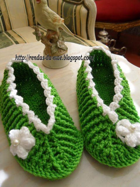 Rendas da Mãe: Sabrinas de lã