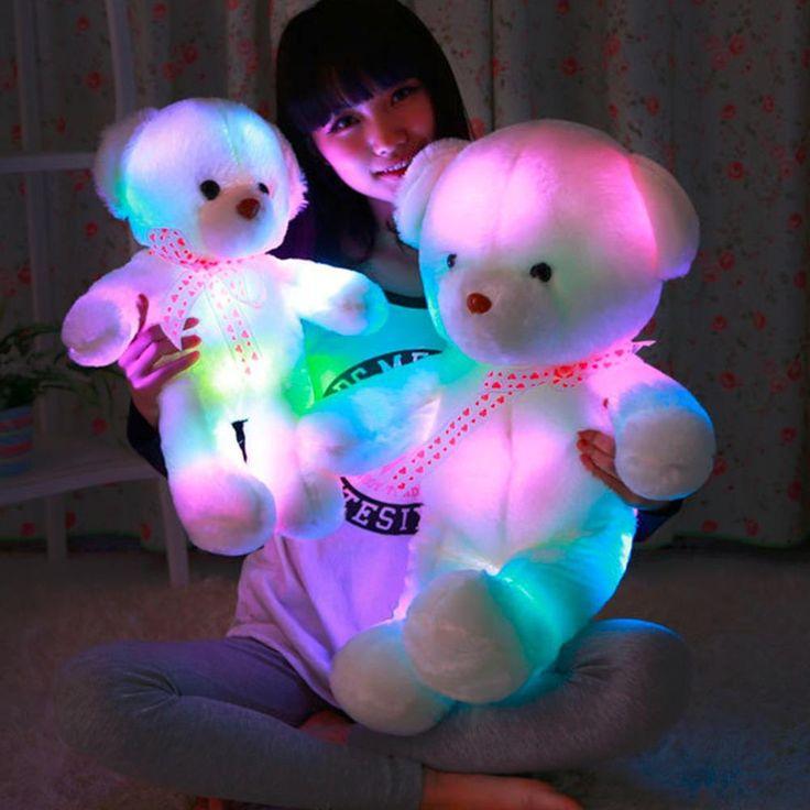 50CM Colorful Glow LED Light Plush Toys Plush Bear Doll Gifts   #DealsBlast #USA #UnitedStates #Canada #UK #Australia #Christmas #OnlineDeals #Deals #OnlineShopping