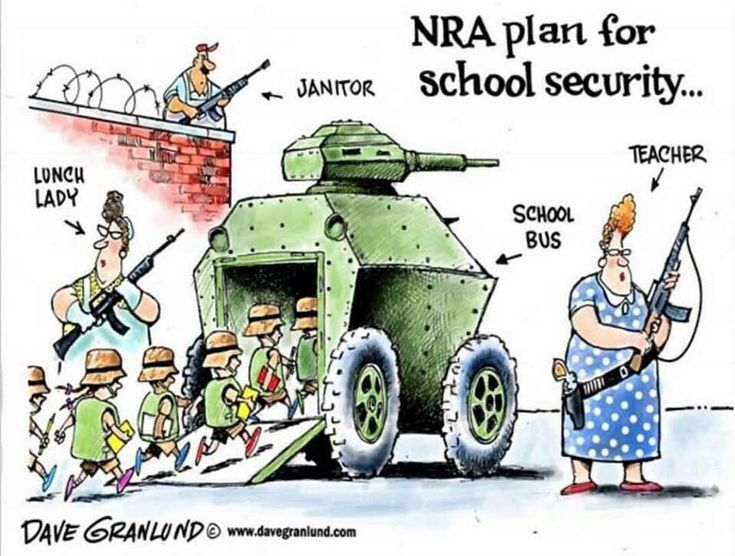 The GOP / NRA Mind at Work.
