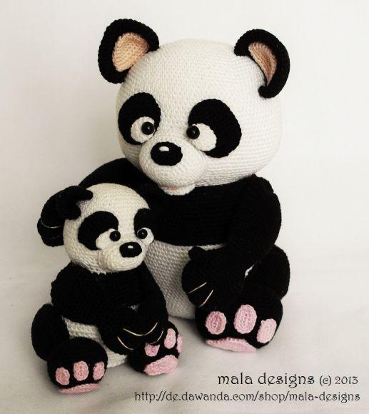 Panda Crochet Animals Pinterest Häkeln Häkeln Anleitung And