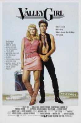 Valley Girl Movie Poster Standup 4inx6in