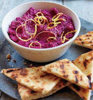 This beet dip is purple perfection. #noms