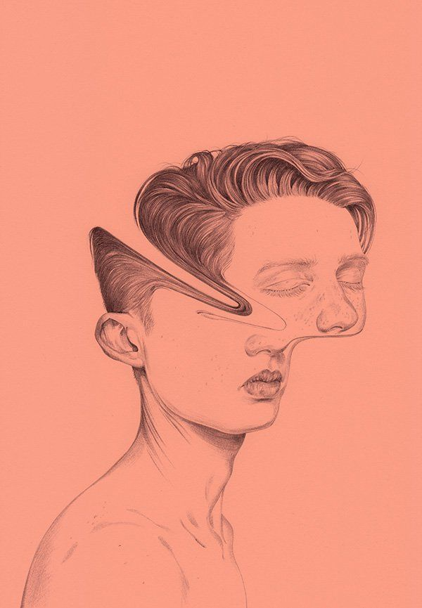 Four Stars (drawing) by Henrietta Harris