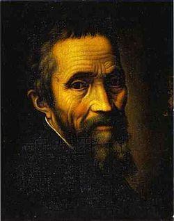 Michelangelo Buonarroti (Caprese, 6 de marzo de 1475 – Roma, 18 de febrero de 1564Pese a que el Renacimiento estuvo influido de manera evidente por los antiguos mitos de Grecia y Roma, tenemos como mínimo que reconocer la notable influencia, especialmente sobre Miguel Ángel, que tuvieron las tradiciones herméticas y esotéricas de la Cábala judía.
