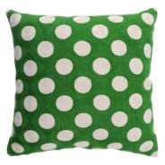 Decorative cushion / pillow: Simon green by Lindell & Co
