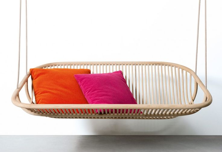 Swing chair. Edward van Vliet for Paola Lenti