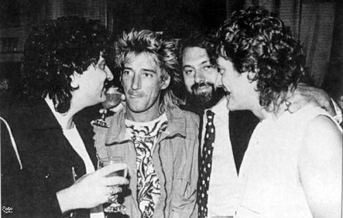 Robert, Carmine Appice and Rod