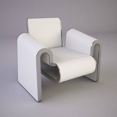 M Chair by Svilen Gamolov