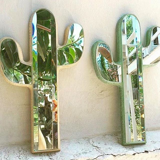 Where can we purchase these? #cactus #mirror #mirage #home #inspo
