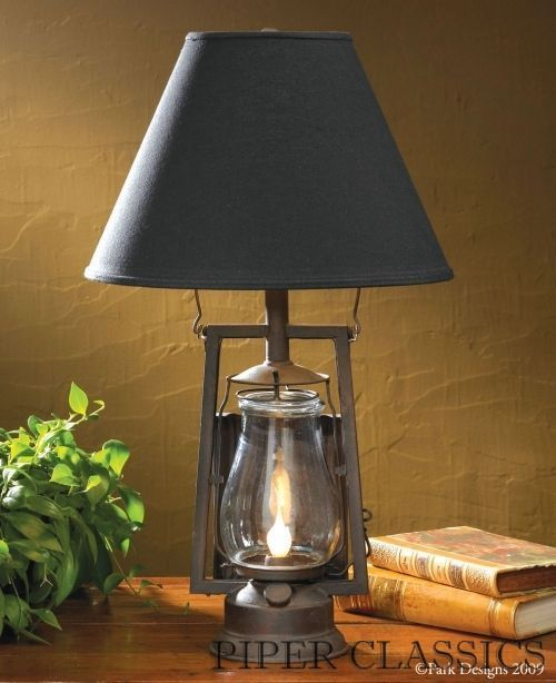 rustic lantern table lamp lumberton lantern lamp piper classics 158 living room and dining. Black Bedroom Furniture Sets. Home Design Ideas